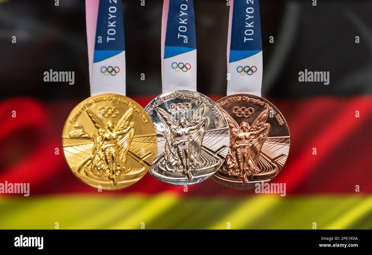 Olympische Spiele Medaillen Stockfotos Und Bilder Kaufen Alamy