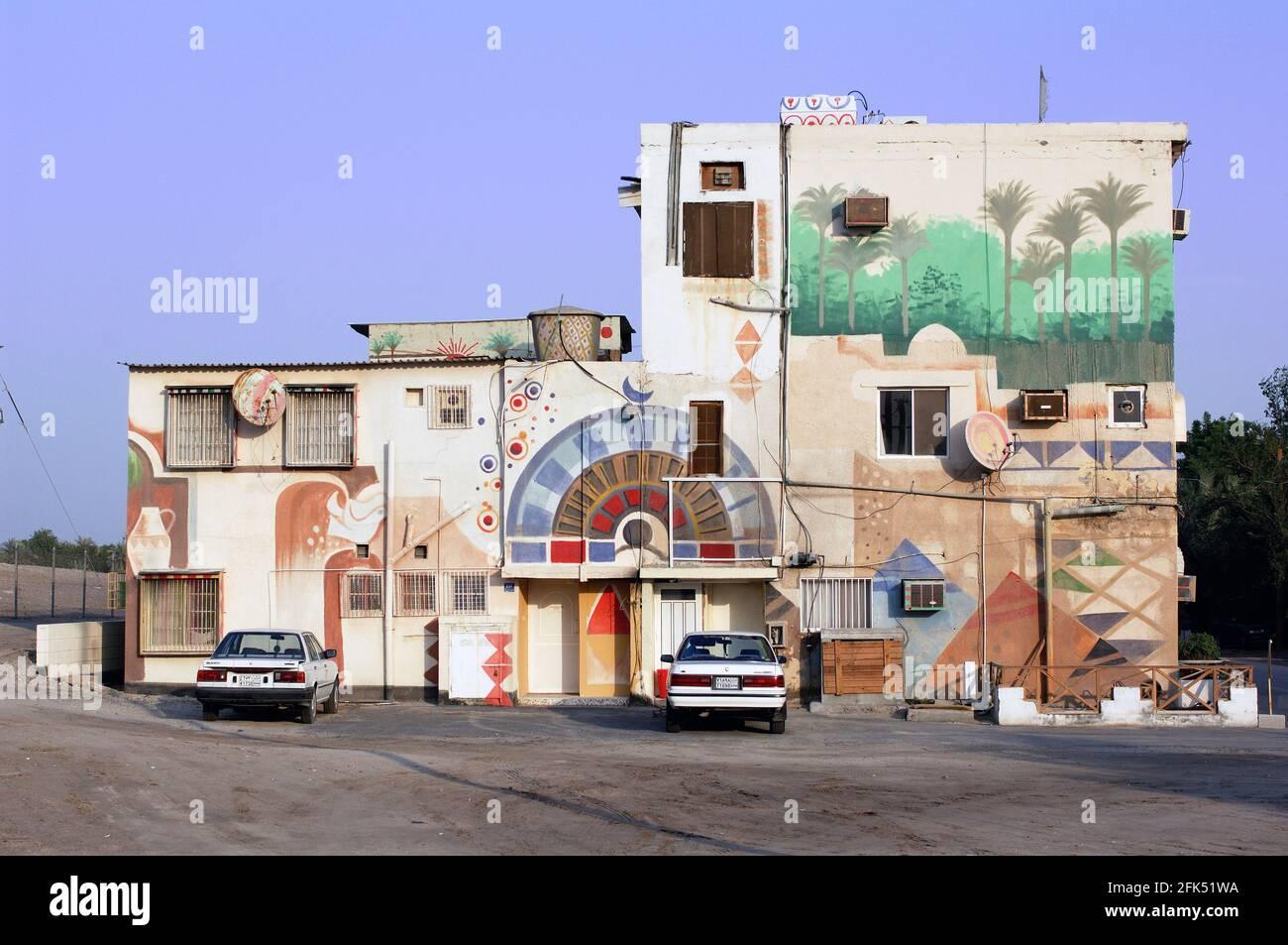 Naher Osten, Persischer Golf, Arabische Halbinsel, Bahrain, Manama, Haus, Stockfoto
