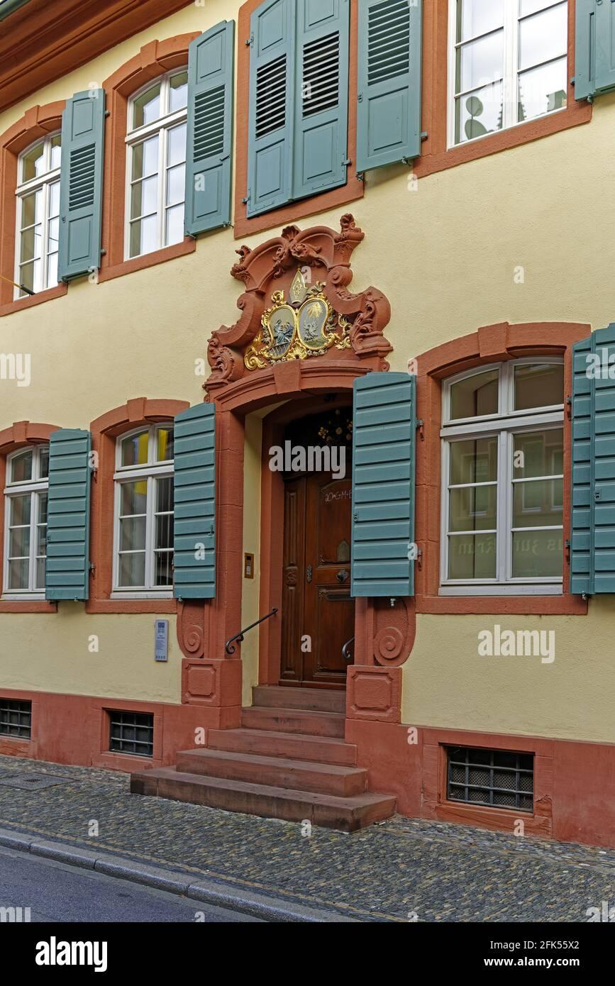 Altstadthaus, Haus Zum Landeck Stockfoto