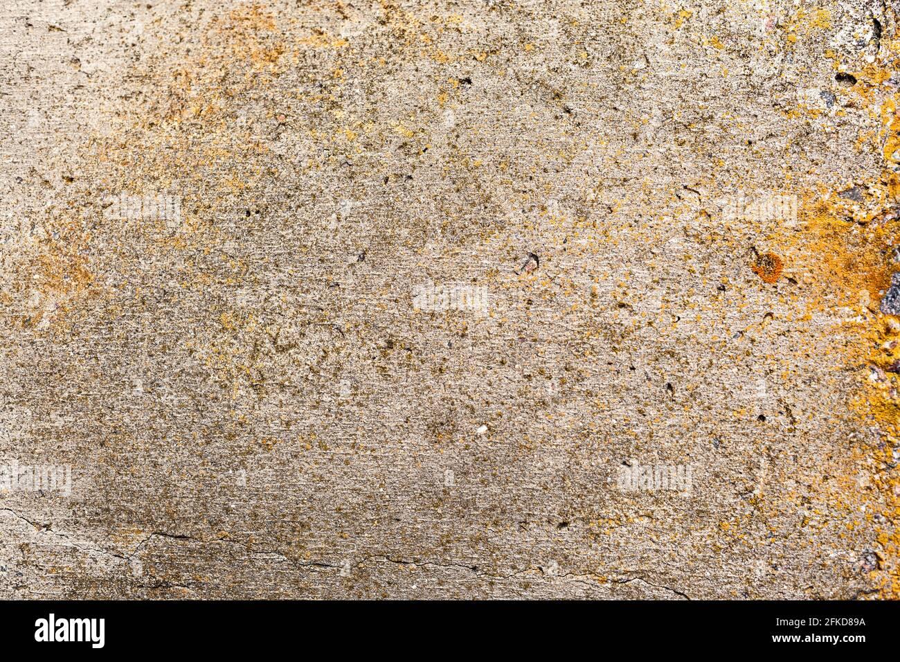 Alte Beton-Nahaufnahme, Vintage Betonwand als Hintergrund oder Textur zu verwenden Stockfoto