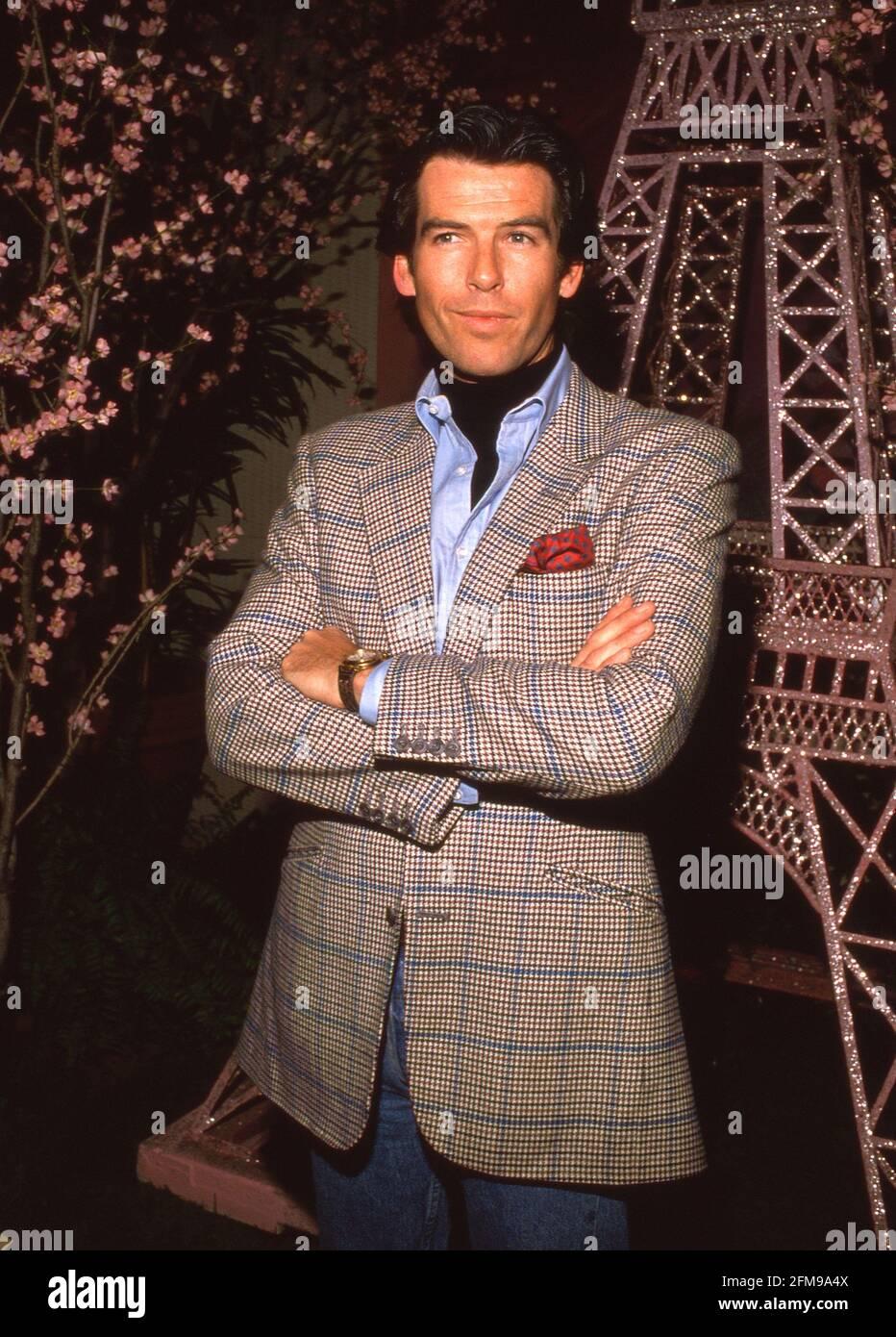 Pierce Brosnan um die 1980er Jahre Credit: Ralph Dominguez/MediaPunch Stockfoto