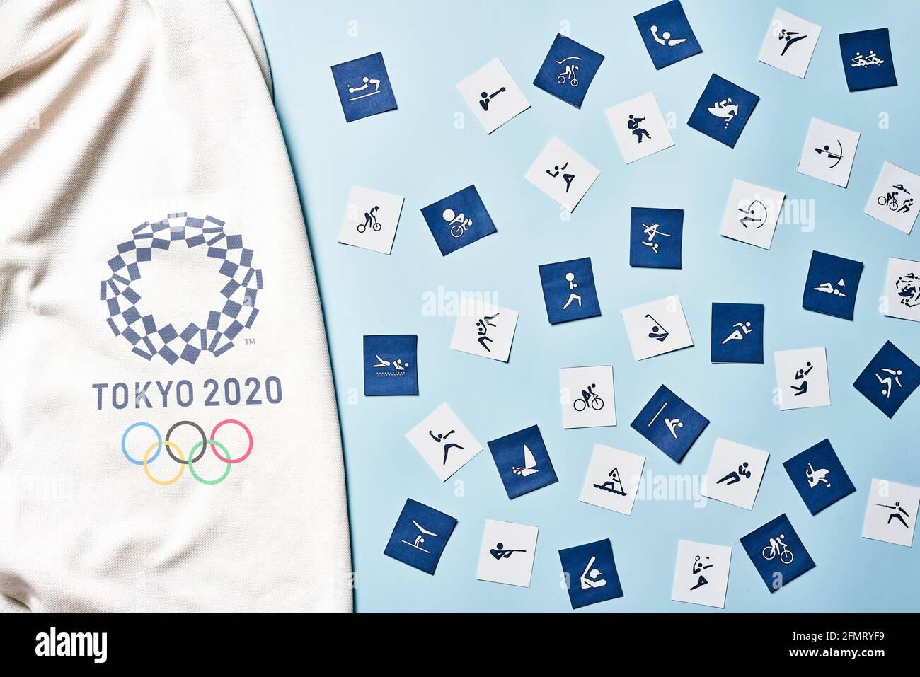 Olympische Spiele Logo Stockfotos Und Bilder Kaufen Alamy