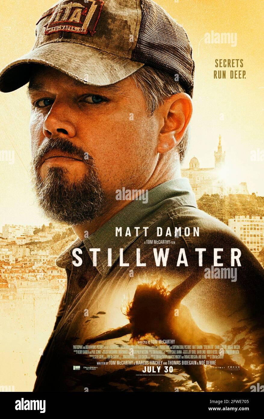 MATT DAMON in STILLWATER 20, Regie Tom MCCARTHY. Bild ...
