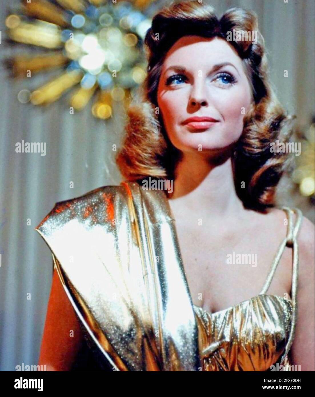 JULIE LONDON (1926-2000) amerikanische Sängerin und schauspielerin der fim um 1957 Stockfoto