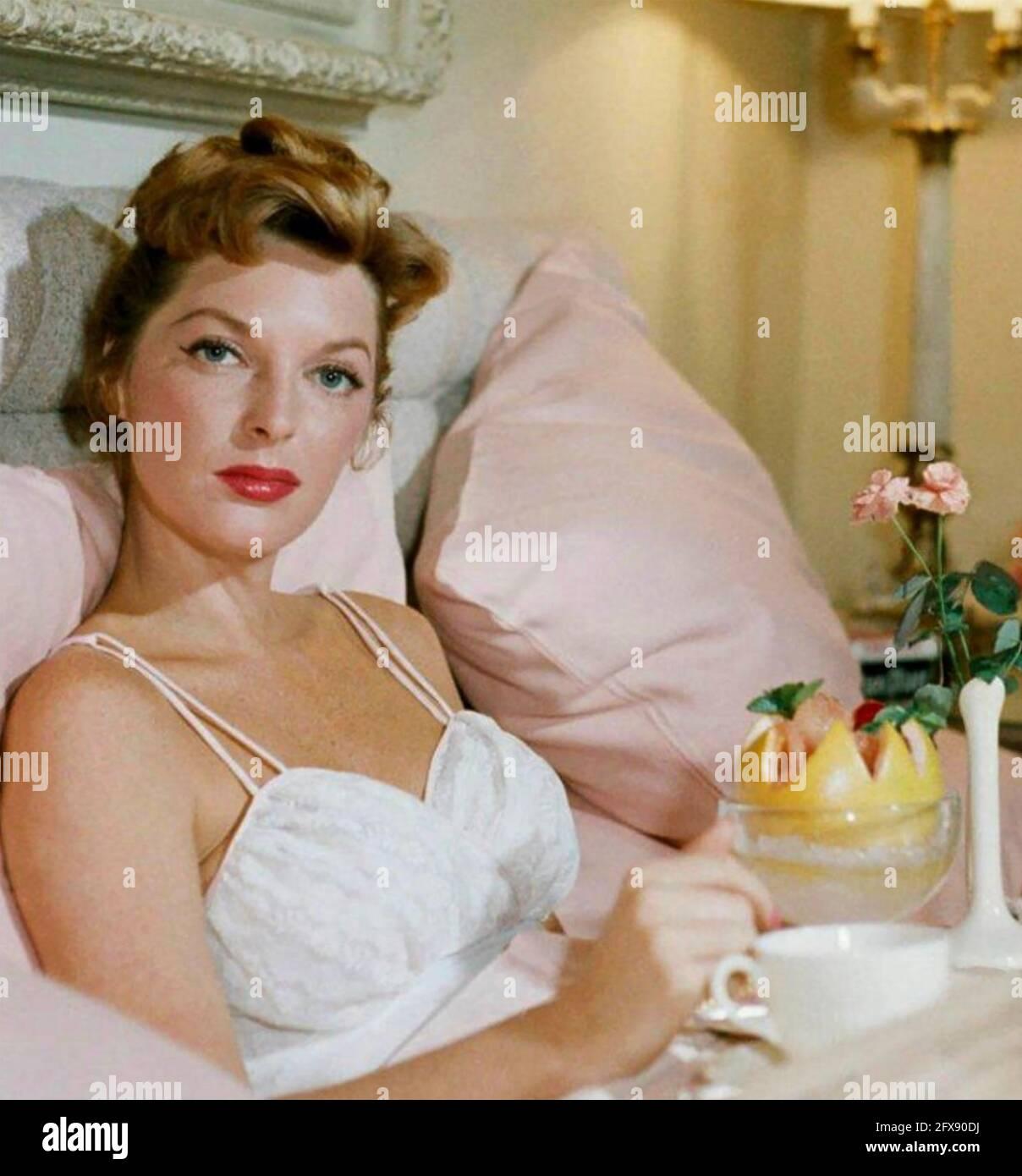 JULIE LONDON (1926-2000) amerikanische Sängerin und schauspielerin der fim um 1960 Stockfoto