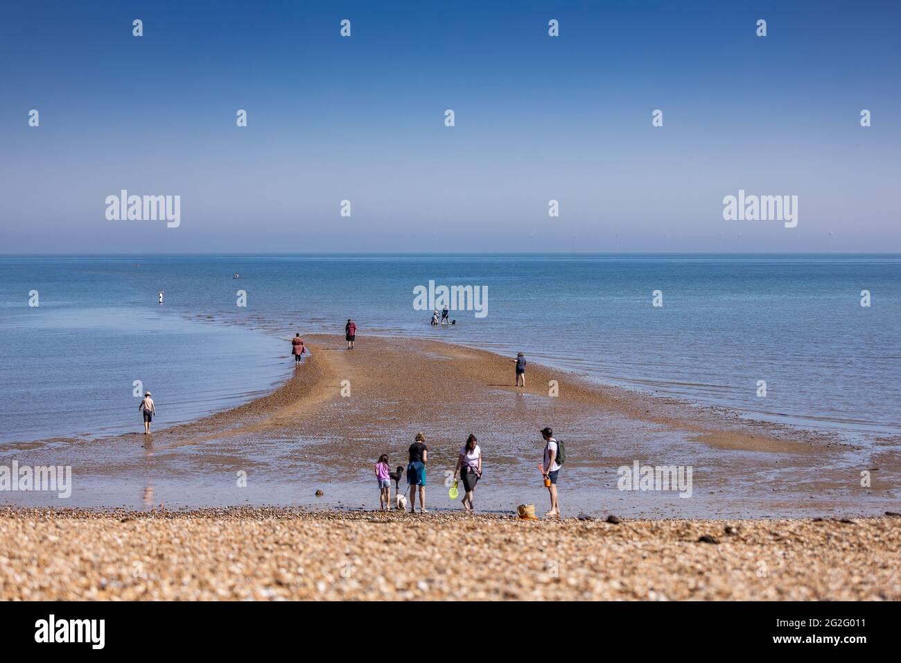 Whitstable - Kent - lokale Fotografie Stockfoto
