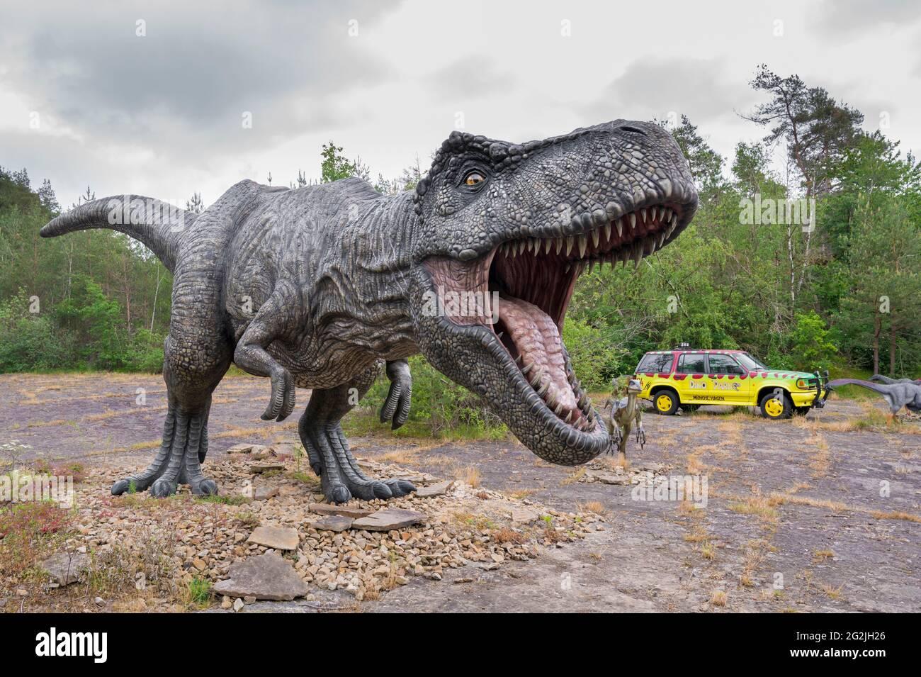 Jurassic Park Auto Stockfotos Und Bilder Kaufen Alamy