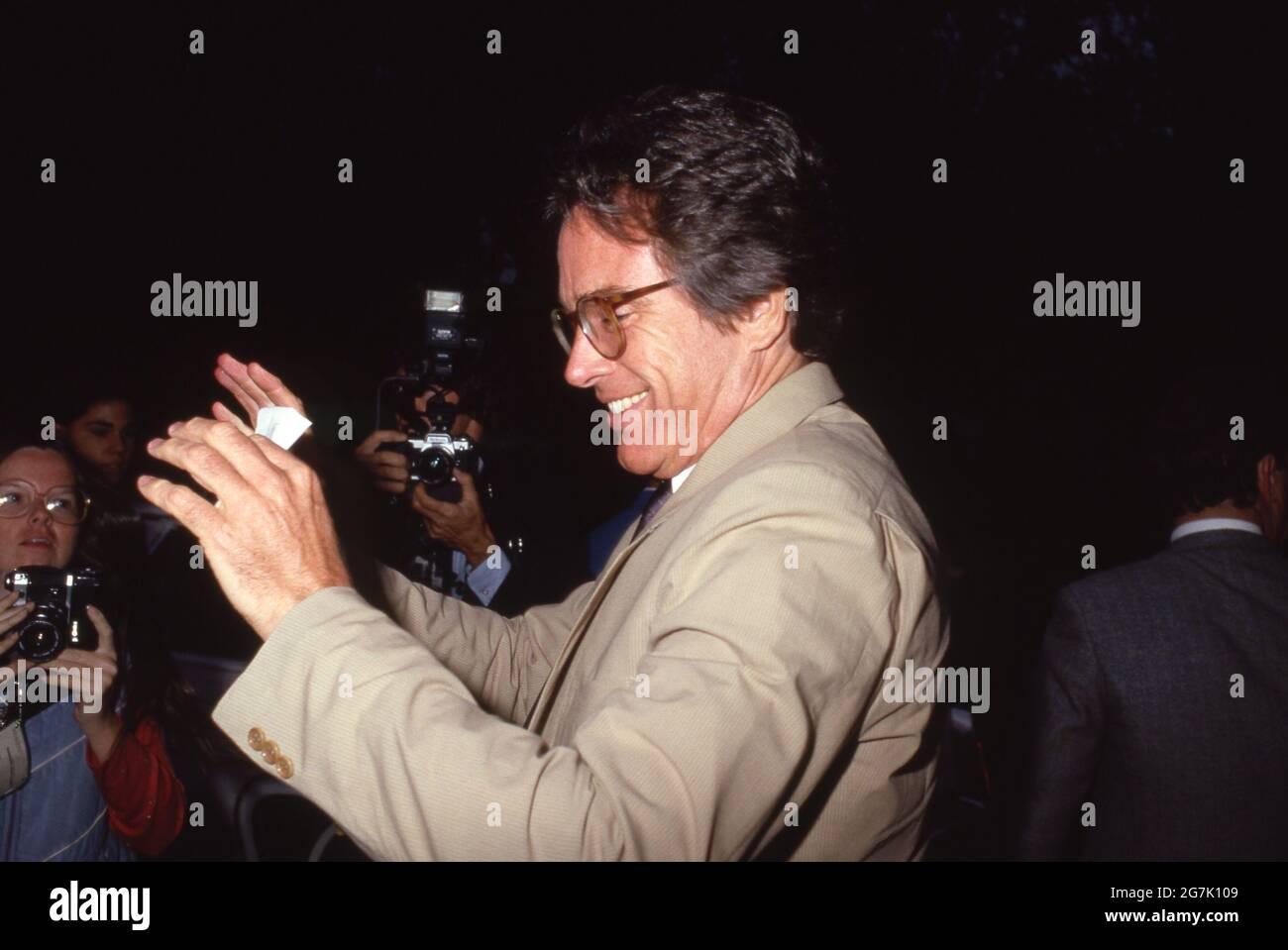 Warren Beatty um die 1980er Jahre Credit: Ralph Dominguez/MediaPunch Stockfoto