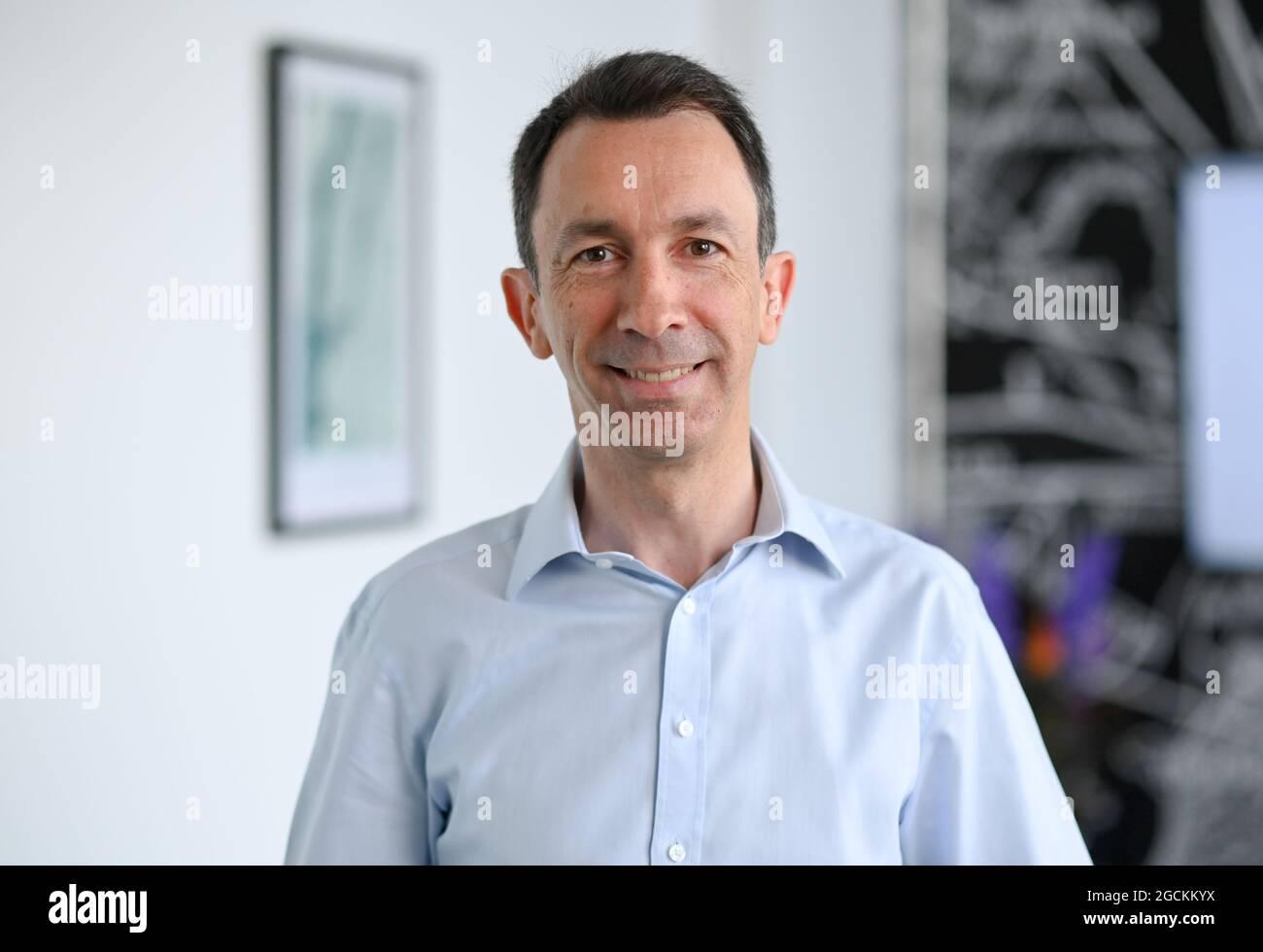 Berlin, Deutschland. Juli 20. Steffen Schneider, CFO von ...