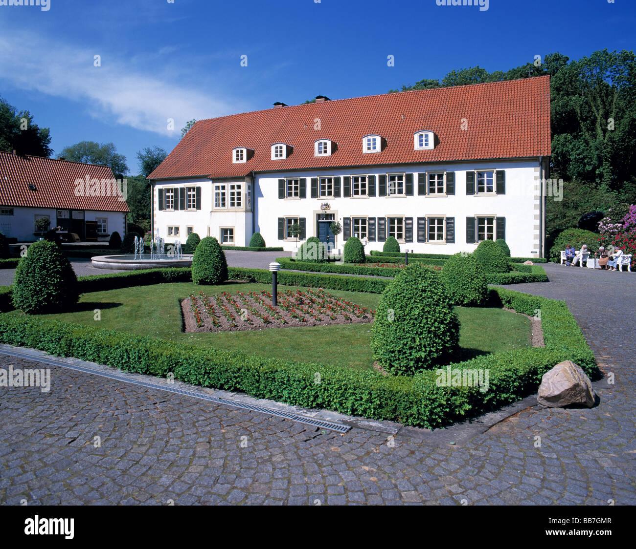 Kurpark Und Haus Des Gastes In Bad Holzhausen Preussisch Oldendorf