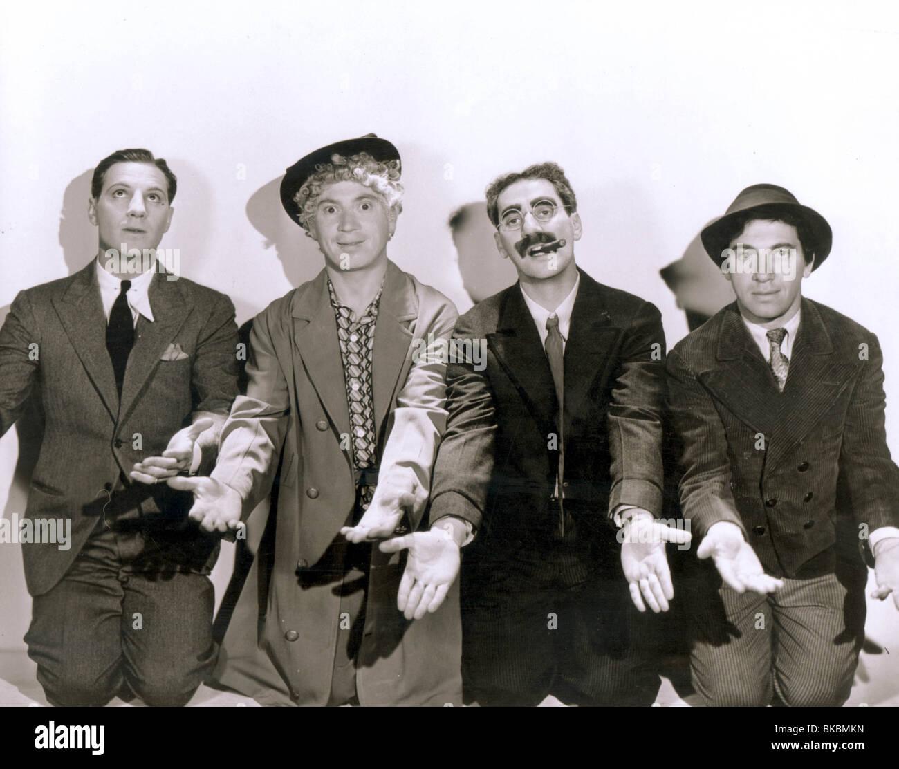 Marx Brothers Portrait Zeppo Marx Harpo Marx Groucho Marx Chico