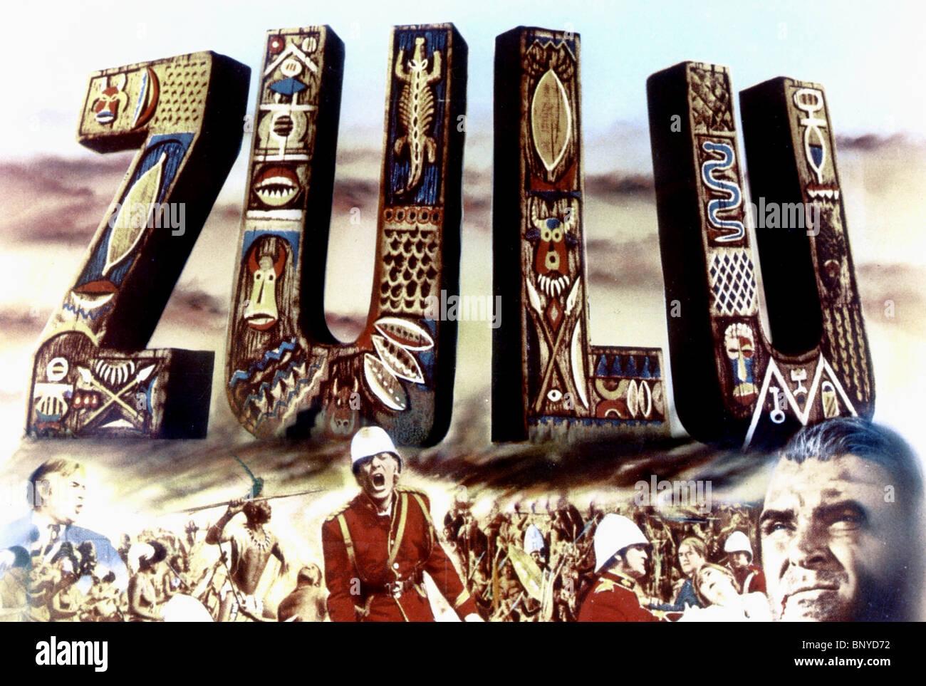 Film Poster Zulu 1964 Stockfoto Bild 30721238 Alamy