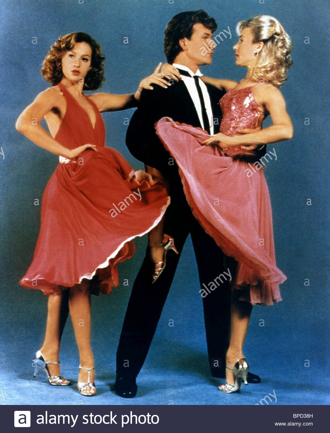 Jennifer Grey Patrick Swayze Cynthia Rhodes Dirty Dancing 1987