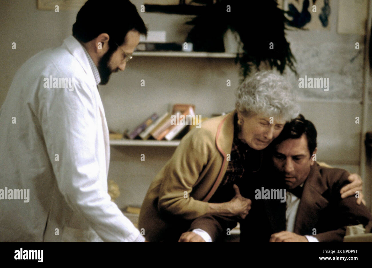 Robin Williams Ruth Nelson Robert De Niro Awakenings 1990
