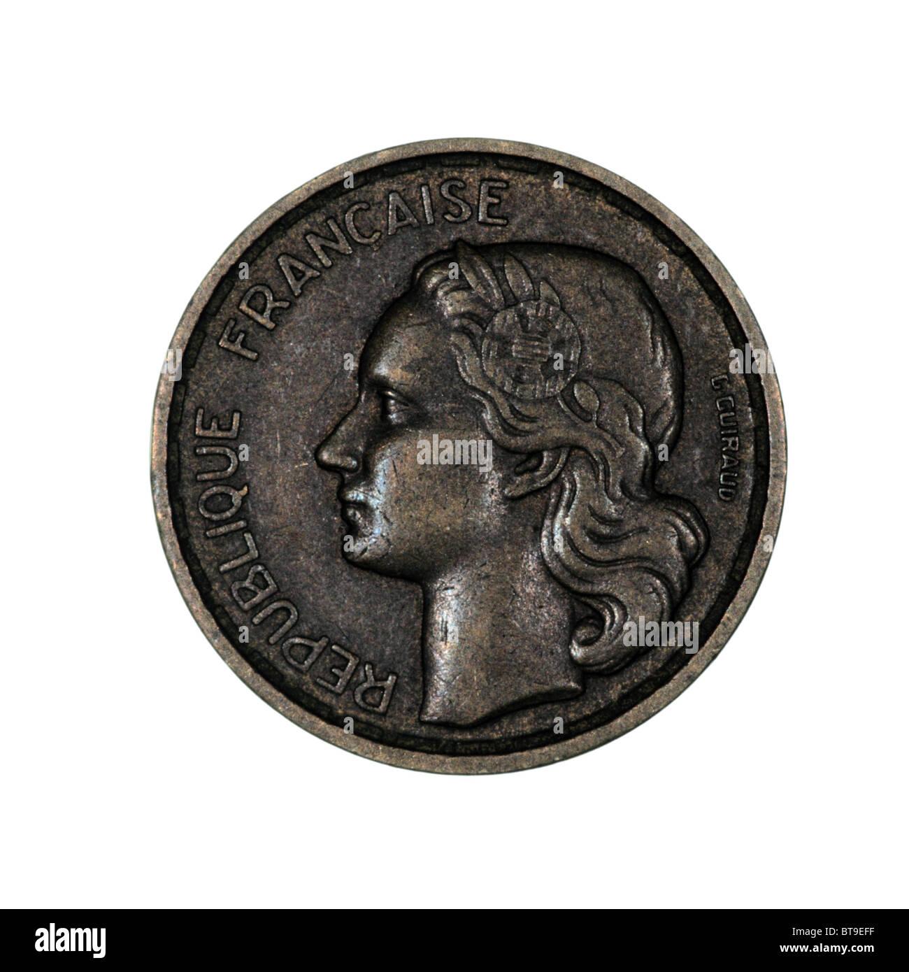 Münze Frankreich Stockfoto Bild 32171091 Alamy
