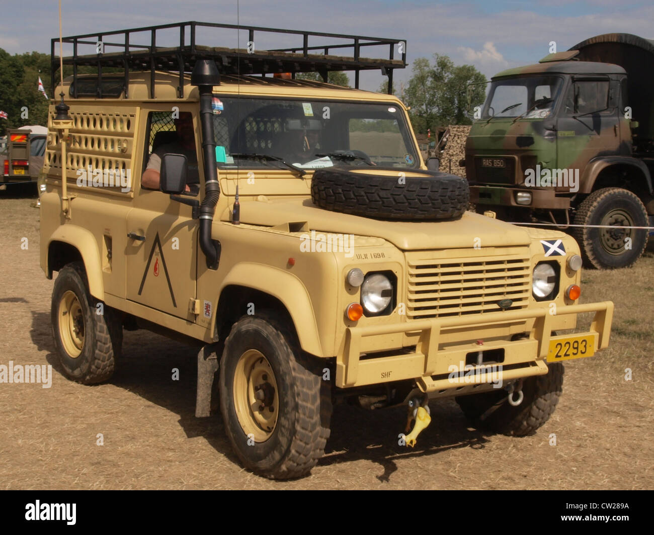 Land Rover Defender 90 Stockfoto Bild 49837574 Alamy