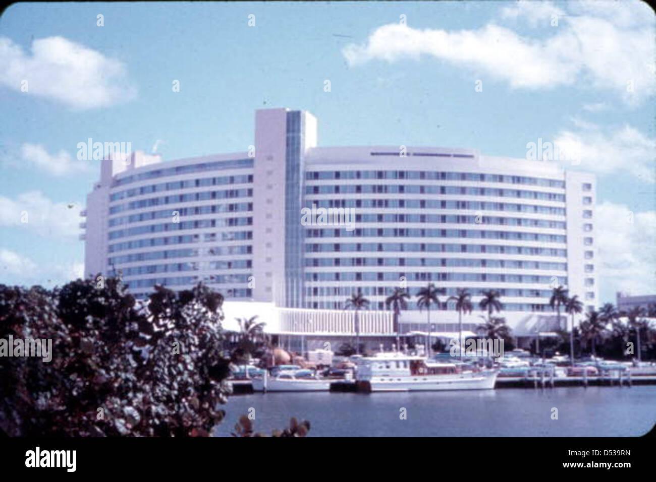 Fontainebleau Hotel Miami Beach Florida Stockfoto Bild 54777961