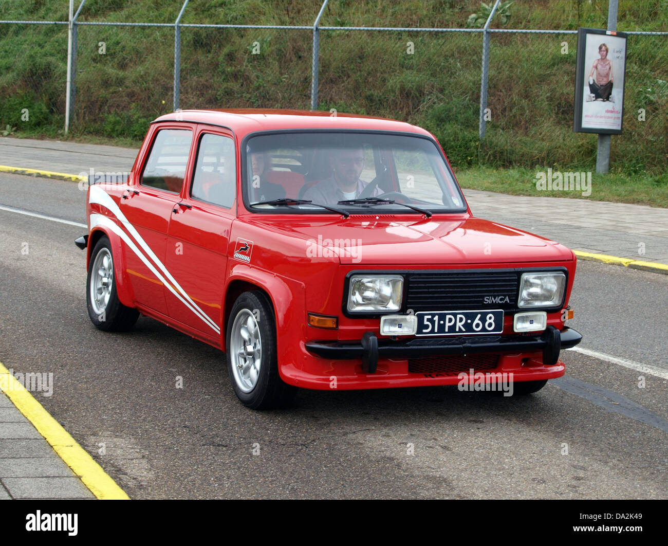 1977 simca 1000 rallye 2 51 pr 69 stockfoto bild. Black Bedroom Furniture Sets. Home Design Ideas