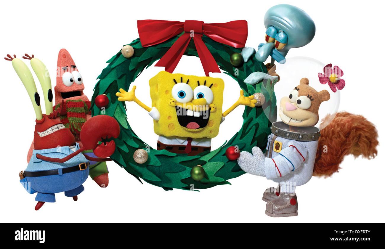 Es ist ein SpongeBob Weihnachten! Stockfoto, Bild: 67938219 - Alamy