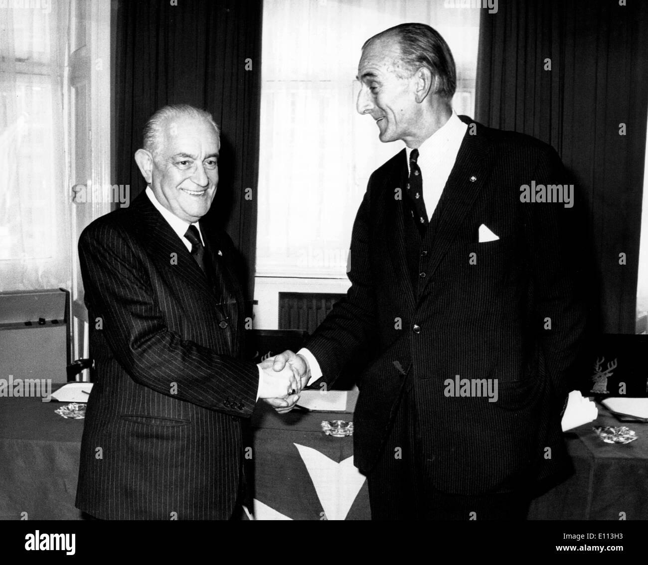 8 Oktober 1975 London Uk Anlasslich Die Hundertjahrfeier Der