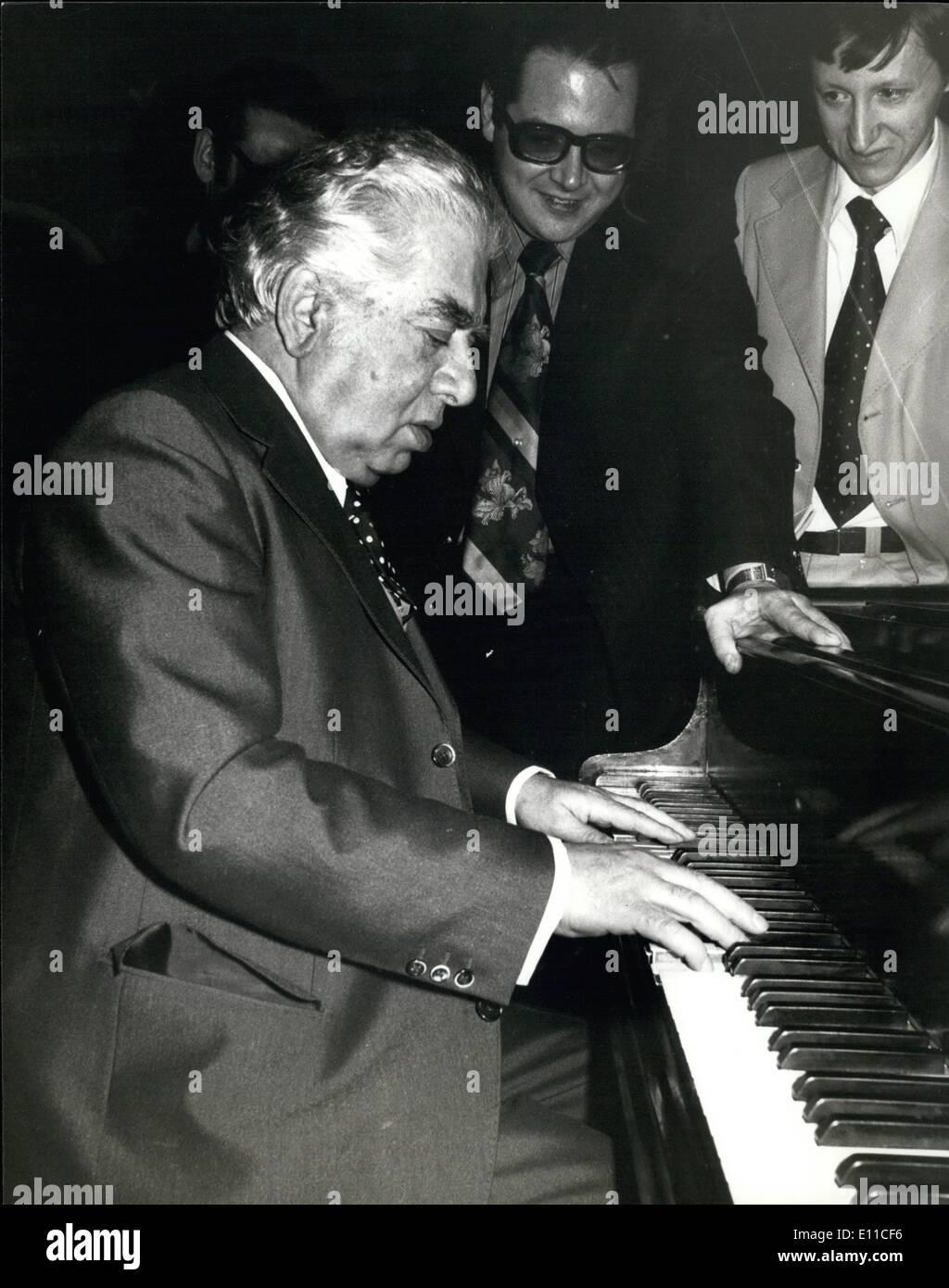1 Januar 1977 Russischen Komponisten Aram Chatschaturjan In