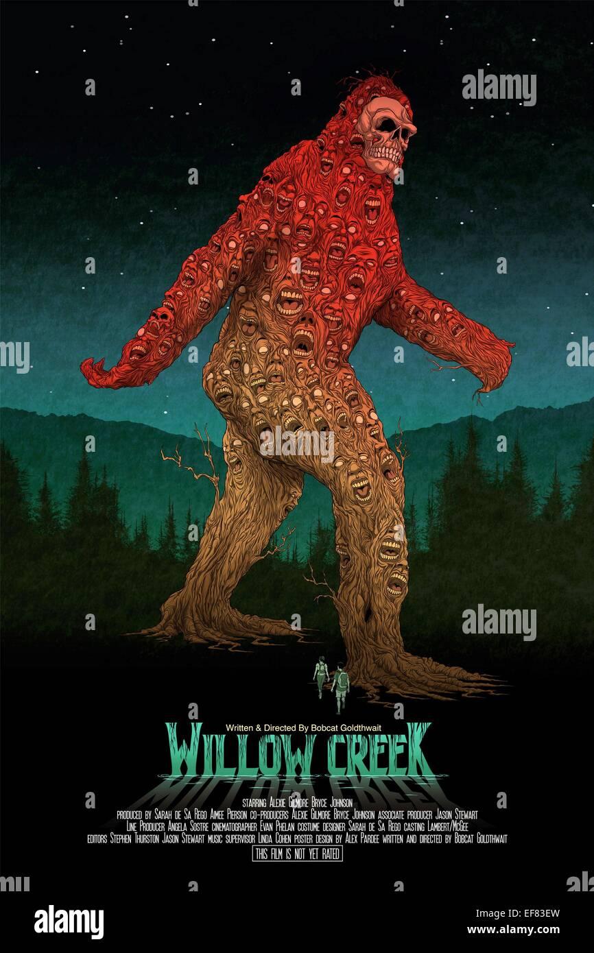 Movie Poster Willow Creek 2013 Stockfoto Bild 78239697 Alamy