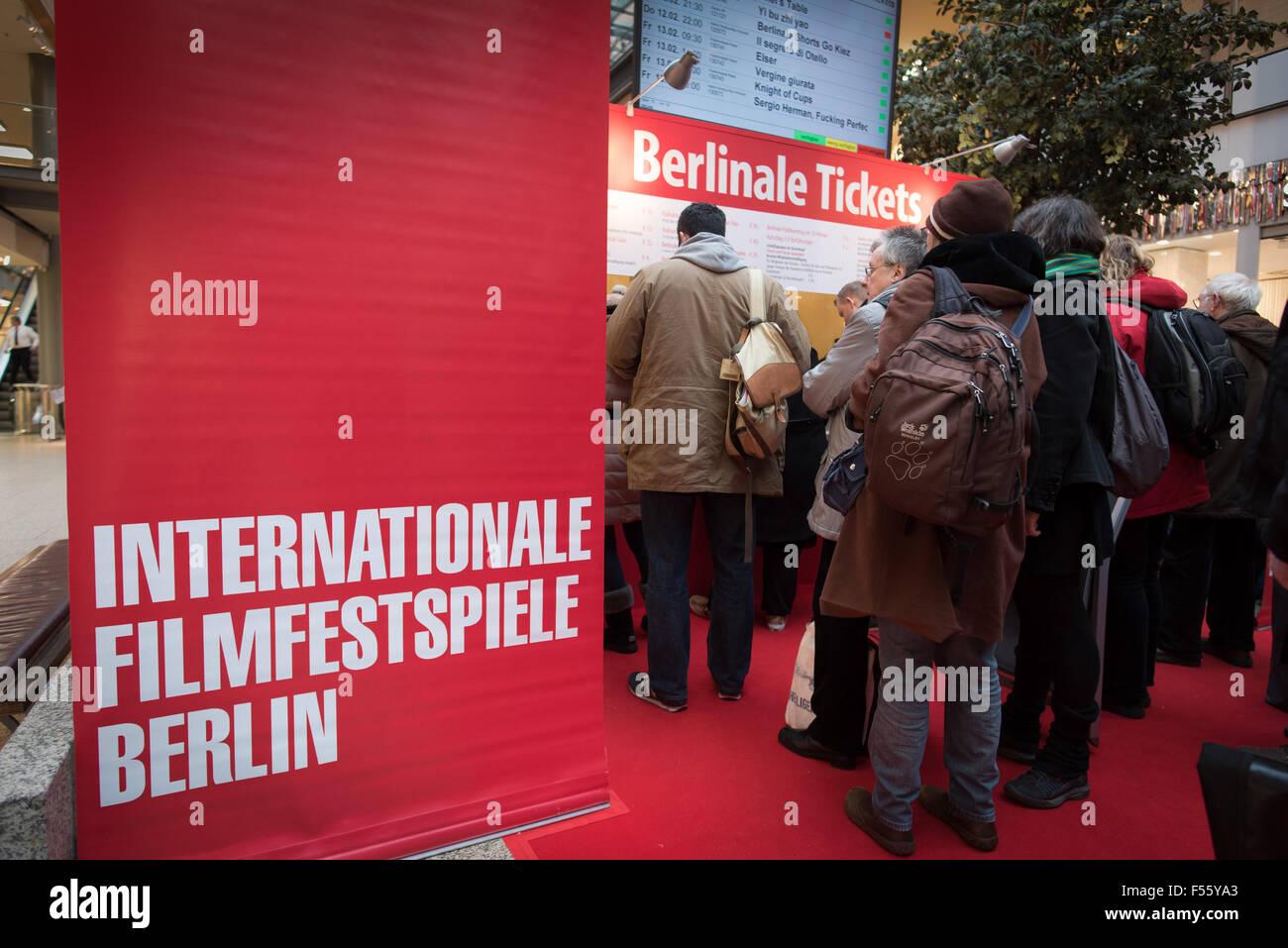 03022015 Berlin Berlin Germany Vorverkauf Die Berlinale Kino
