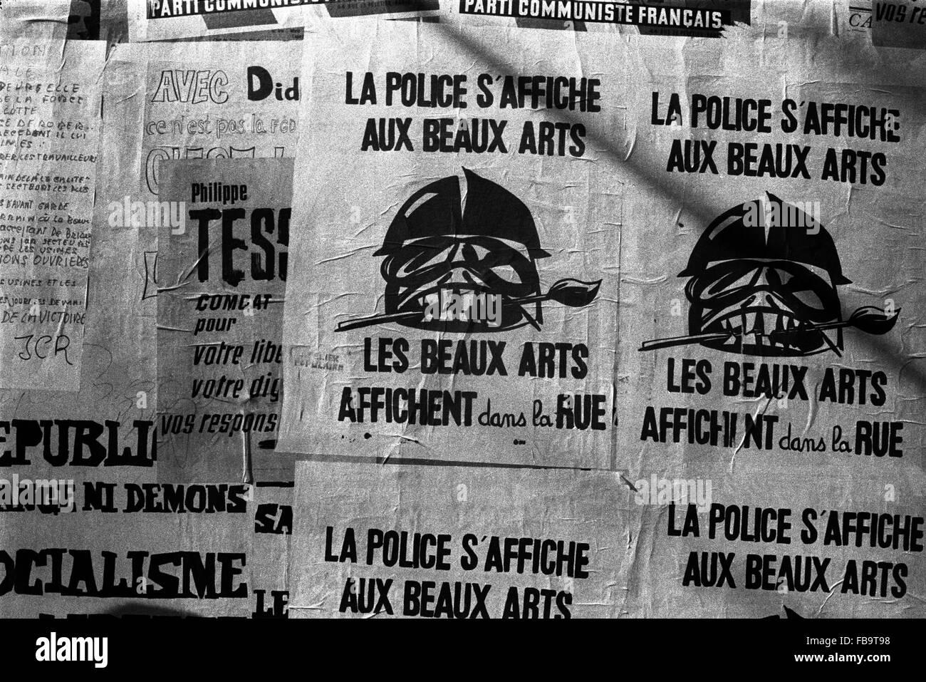 Fälle Von Mai 1968 Frankreich Ile De France Region
