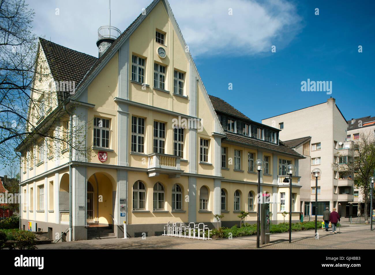 Deutschland NRW Wesseling Bahnhofstrasse Altes Rathaus