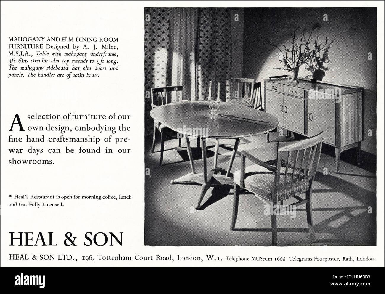 Anzeige Der 1950er Jahre Werbung Aus Original Alten Vintage