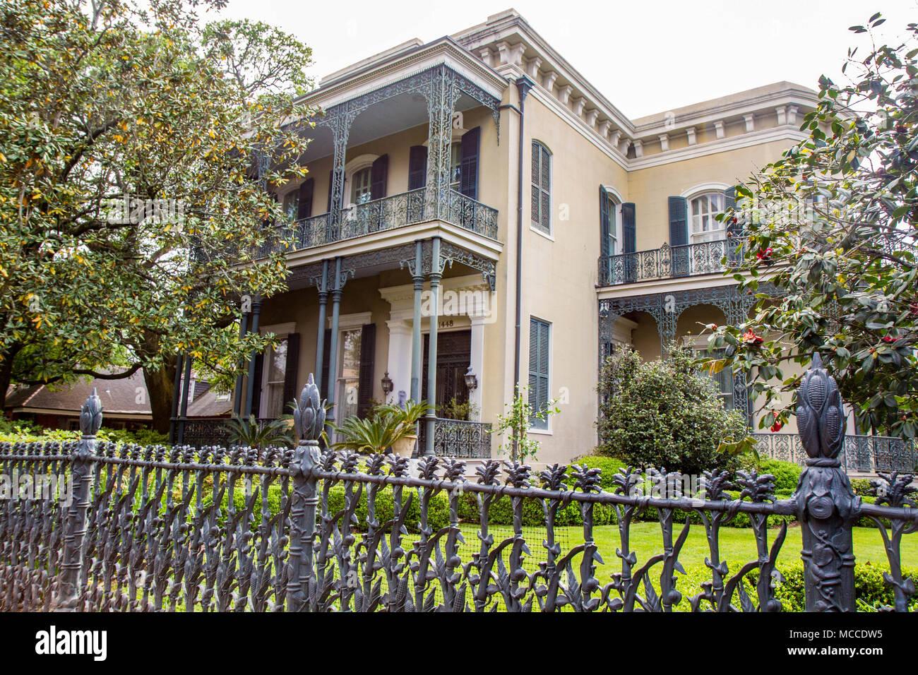 Colonel Kurzen S Villa Herrenhaus Im Garden District New Orleans