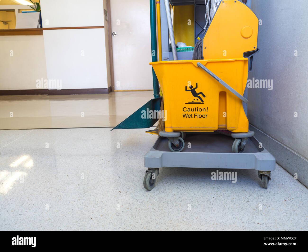 Fußboden Reiniger ~ Reinigung werkzeuge warenkorb für dienstmädchen oder reiniger in der