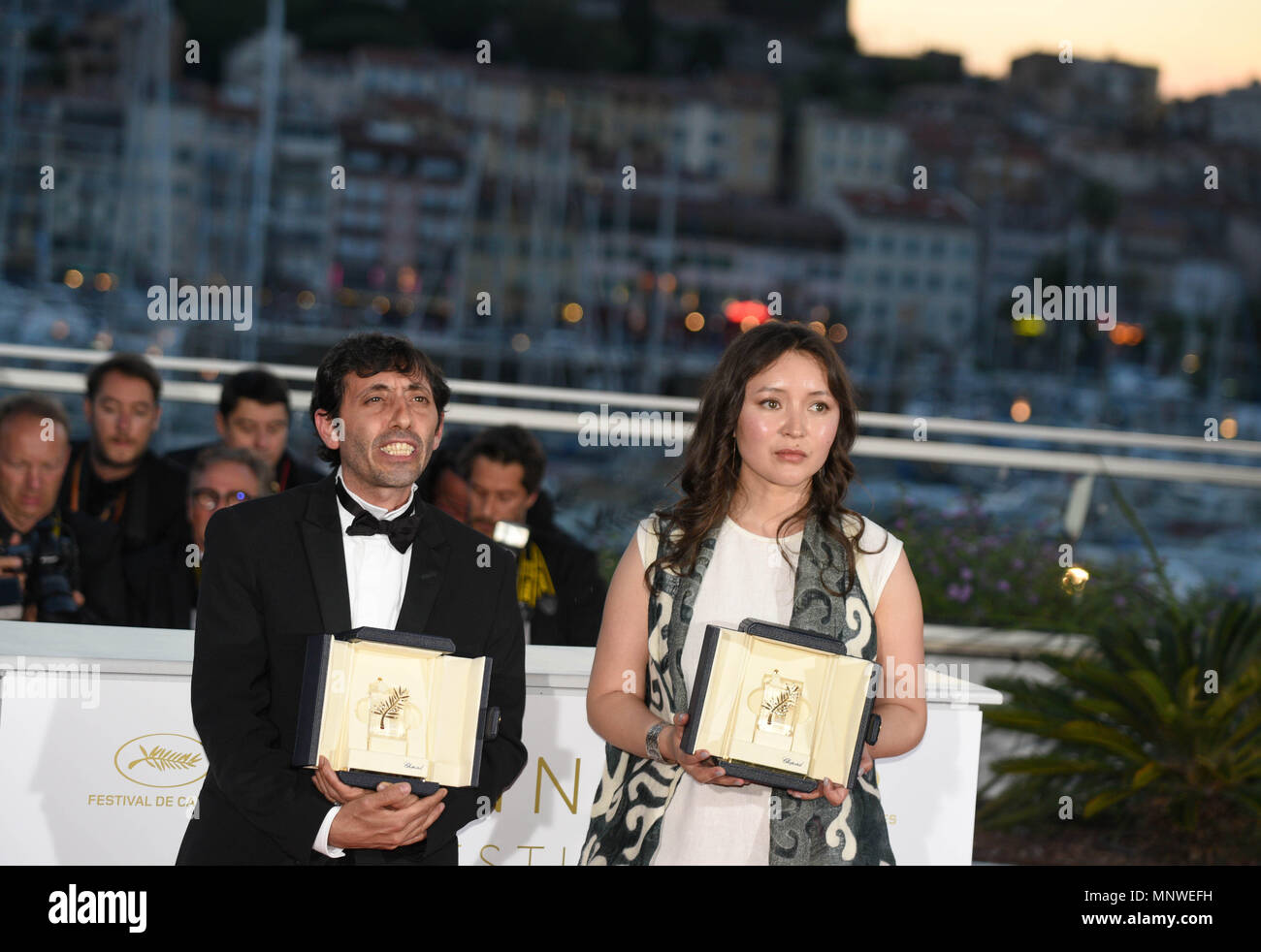 Mai 19 2018 Cannes Frankreich Marcello Fonte Und Samal