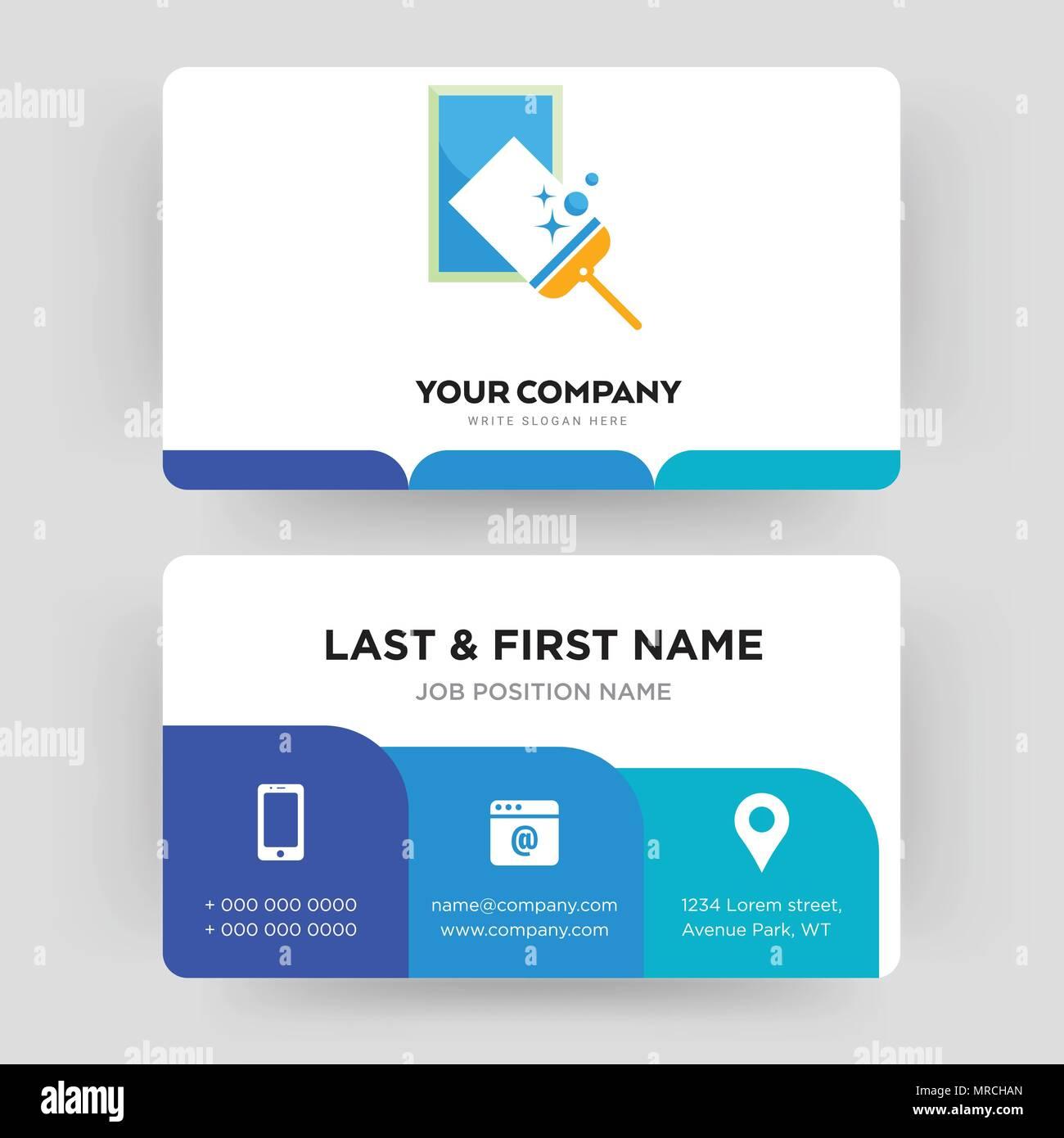 Fenster Reinigung Business Card Design Vorlage Die Sie Fur Ihre