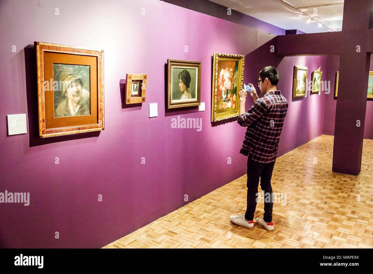 ... CDMX Cuauhtemoc Tabacalera Museo Nacional de San Carlos National Museum  Art Museum Ausstellung innen Deutsche Gedovius Galerie Malerei junge Teen  unter ...
