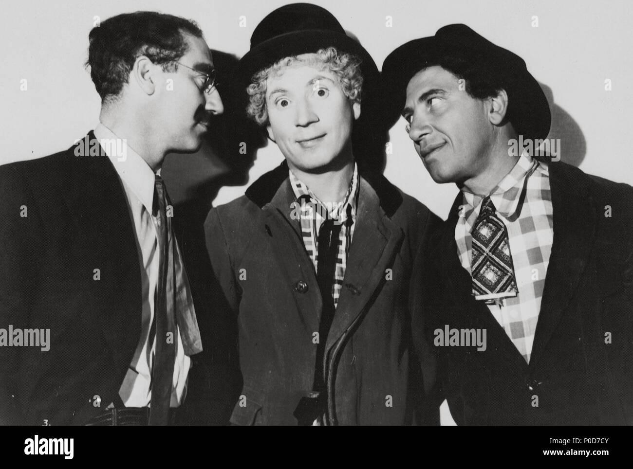 Stars Harpo Marx Die Marx Brothers Chico Marx Groucho Marx