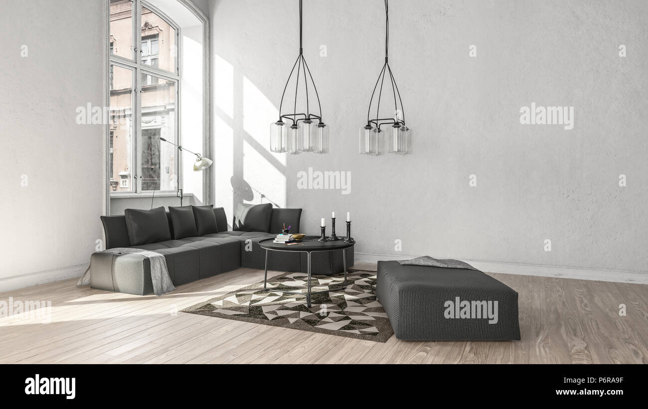 Wohnzimmer Scandinavian Style