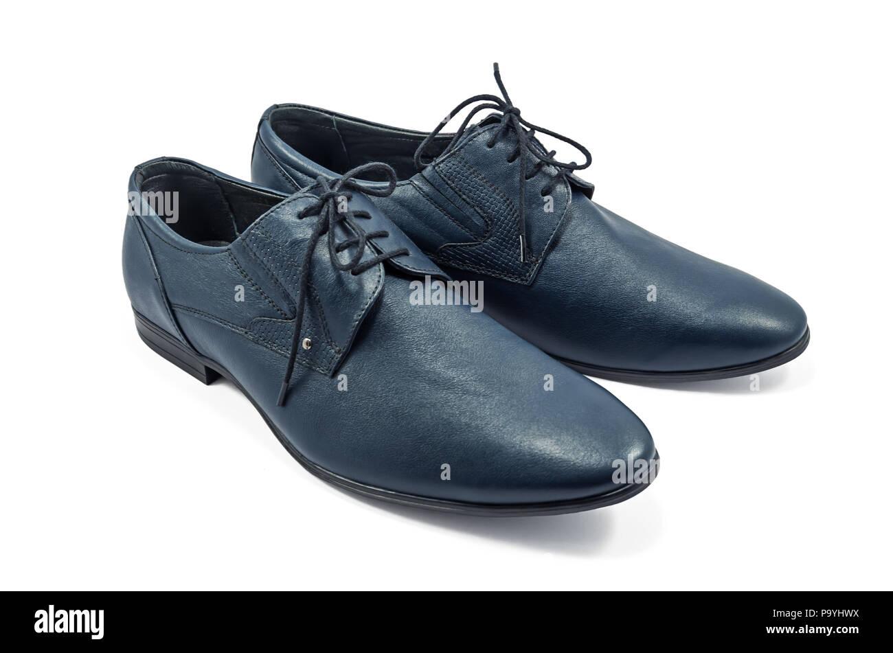 7353e10bf44eba Modische Schuhe für Männer Farbe blau