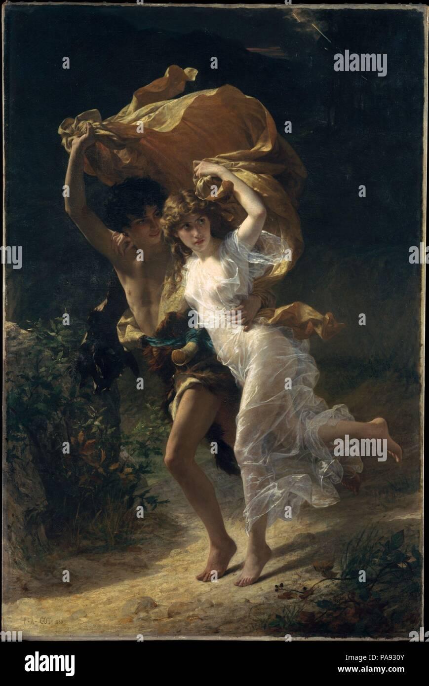Der Sturm Künstler Pierre Auguste Babybett Französisch Bédarieux
