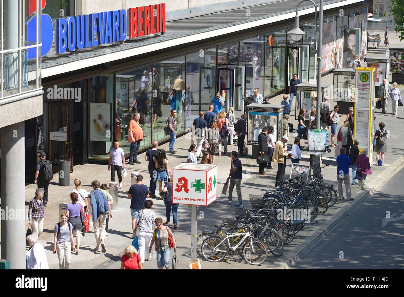 Boulevard Berlin, Schloßstraße, Steglitz, Berlin, Deutschland ...