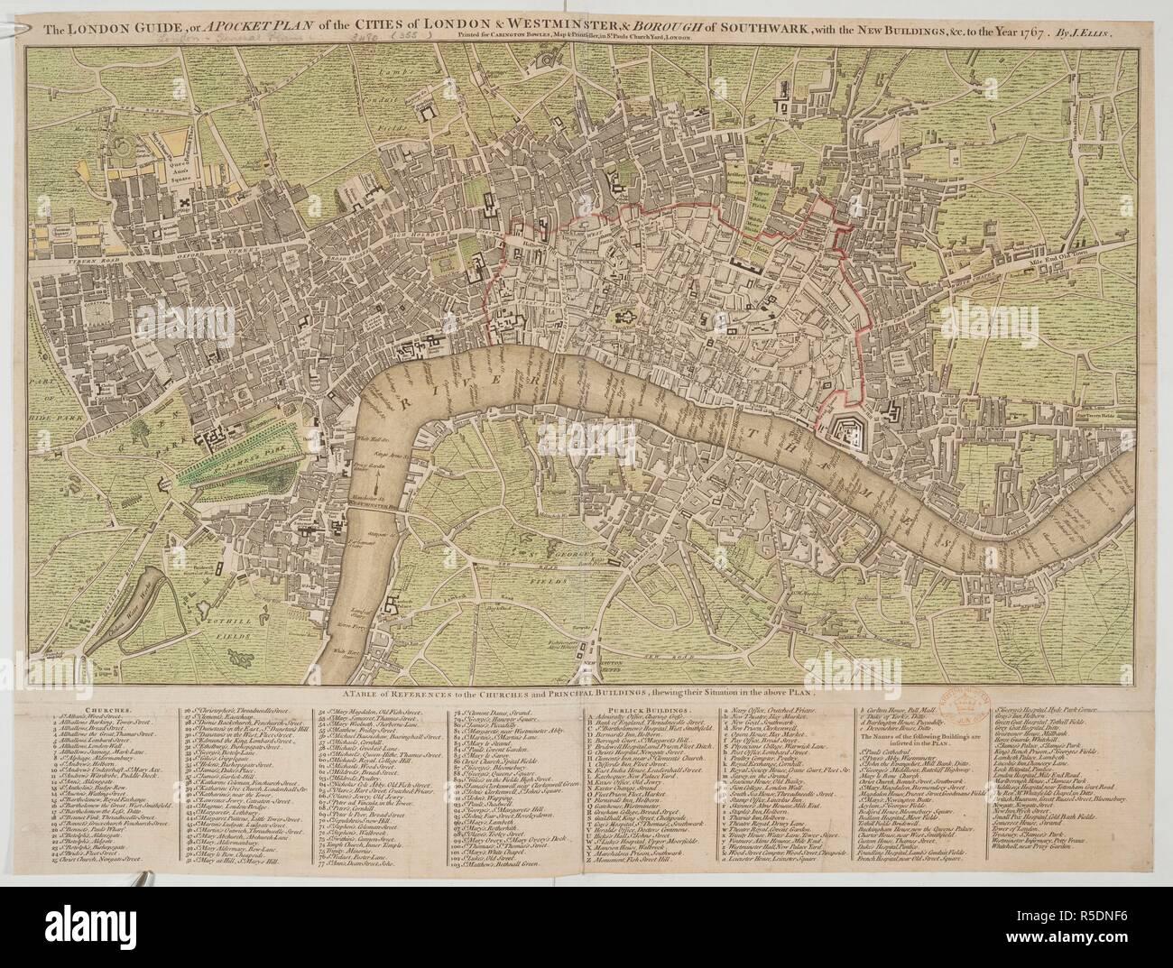 Karte London Stadtteile.Eine Karte Von London Die London Guide Oder Ein Pocket Plan