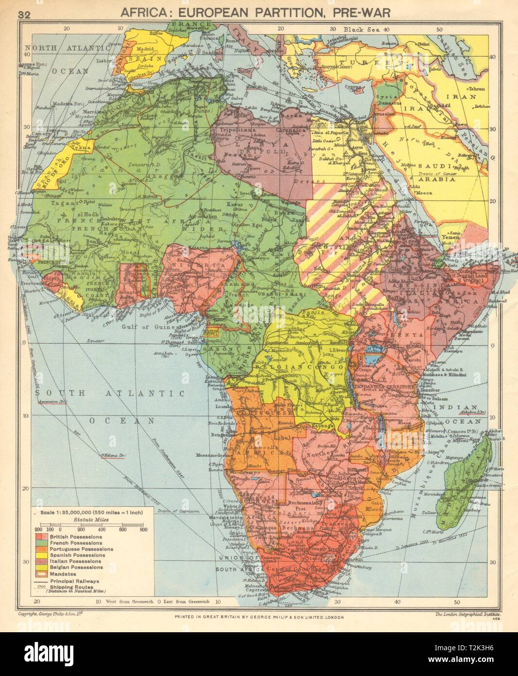 Deutsche Karte Vor Dem 1 Weltkrieg.Vor Dem Zweiten Weltkrieg Afrika Europaischen Kolonien