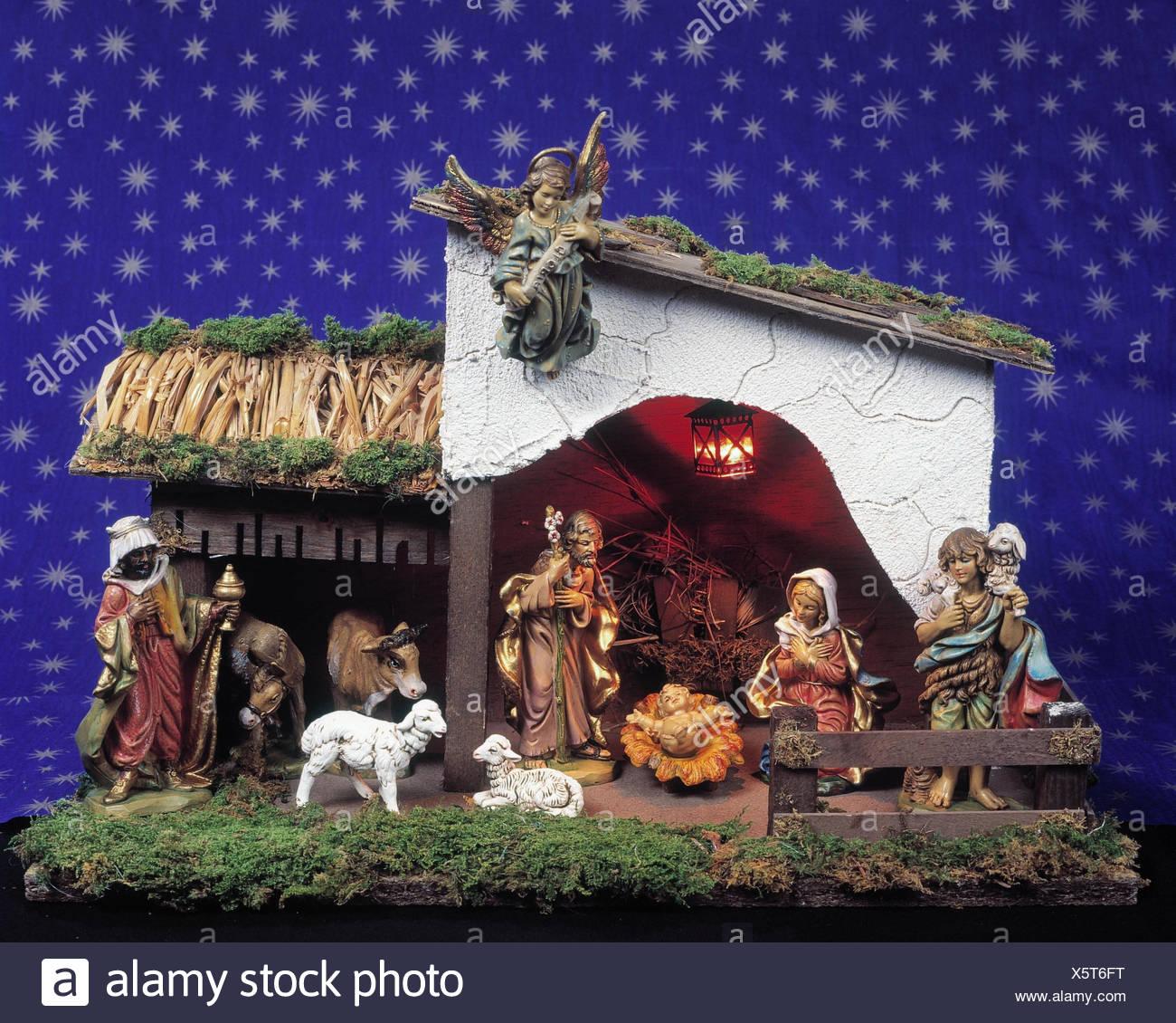 Kinderkrippe, Krippe, Weihnachten, \
