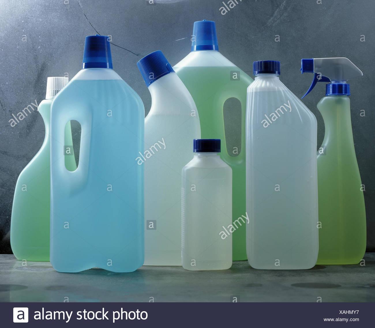 Reinigungsmittel Kunststoff Spruhen Flaschen Anders Haushalt