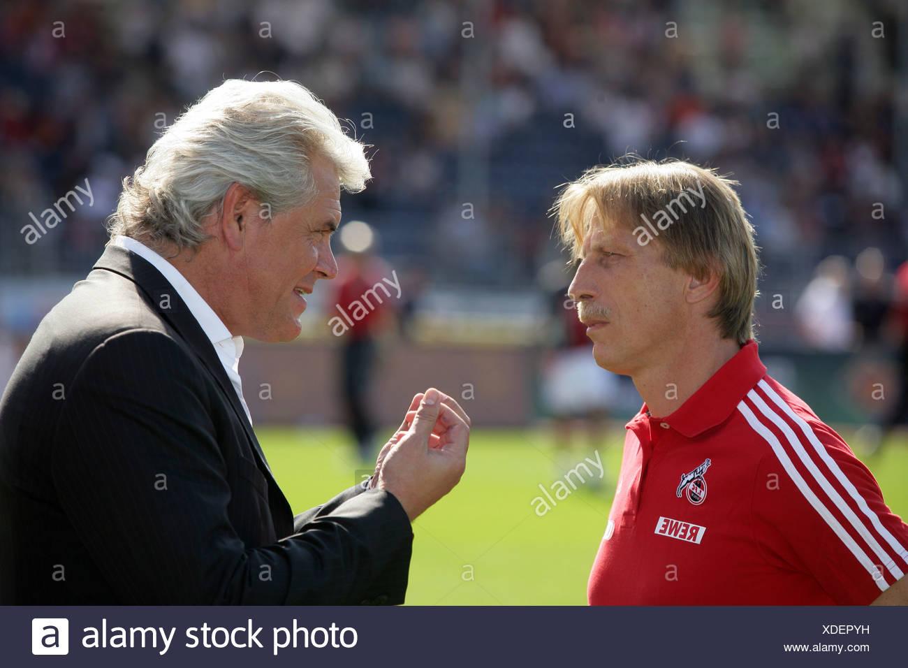 Fussball Trainer Uwe Rapolder Tus Koblenz R Und Christoph Daum
