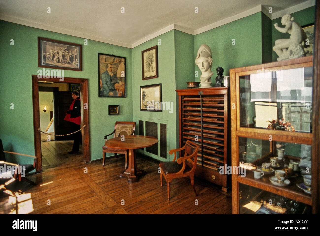 goethe haus weimar deutschland stockfoto bild 9844910 alamy. Black Bedroom Furniture Sets. Home Design Ideas