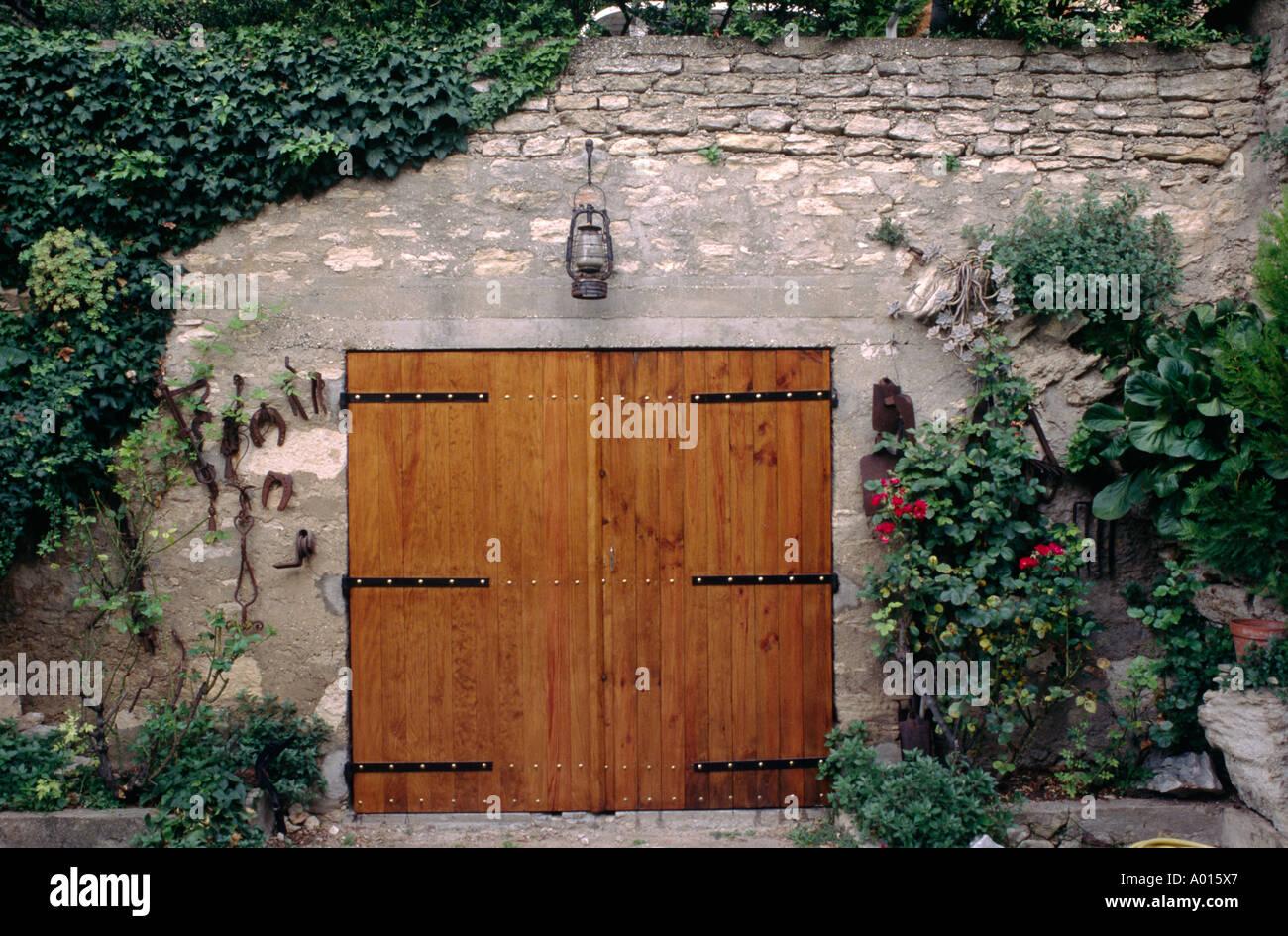 High Quality Garage Tür Landschaftsbau In Den Goldenen Stein Dorf Von  GORDES PROVENCE Frankreich