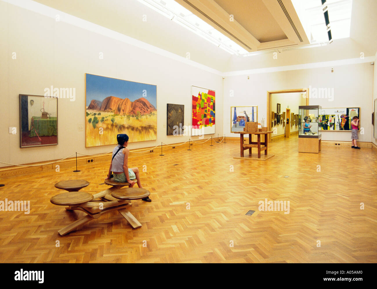 National Museum of Wales in Cardiff, UK. Kunst Galerie Interieur ...