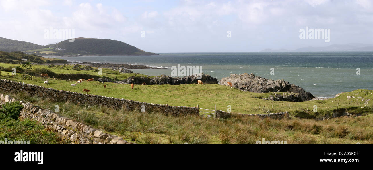 irland county mayo old head und clew bay panorama stockfoto bild 3228621 alamy. Black Bedroom Furniture Sets. Home Design Ideas