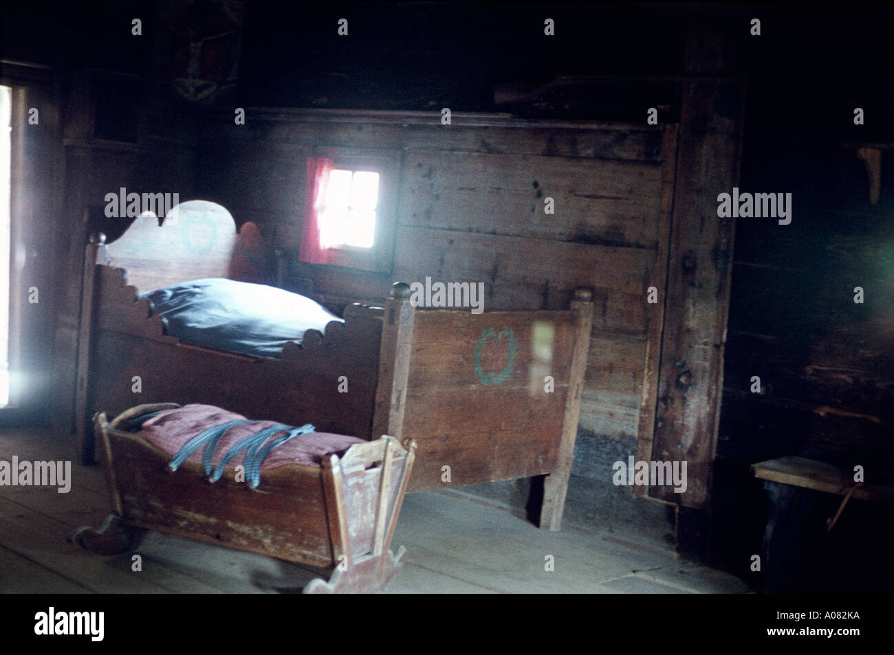 Alte Möbel Im Zimmer In Haus österreich Alpe Steiermark Aut